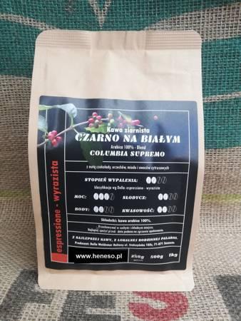 Kawa Dolla ziarnista - Czarno na Białym BLEND ARABICA 100%