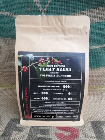 Kawa Dolla ziarnista - Temat Rzeka COLUMBIA SUPREMO